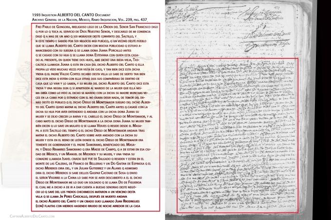 1593 Inquisition Alberto del Canto document 1 of 2.jpg